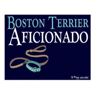 Boston Terrier Tarjeta Postal