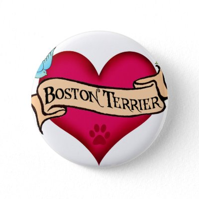 tattoos of hearts. Boston Terrier Tattoo Heart