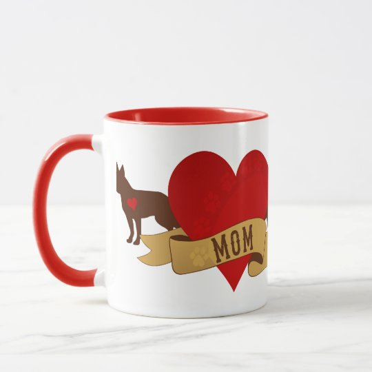 Boston Terrier [Tattoo style] Mug