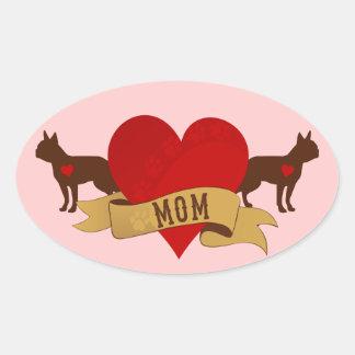 Boston Terrier [Tattoo style] Stickers