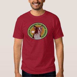 Boston Terrier Tea Party Society - Customized T-shirt