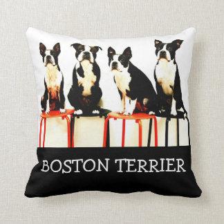Boston terrier Ⅰ Throw Pillow