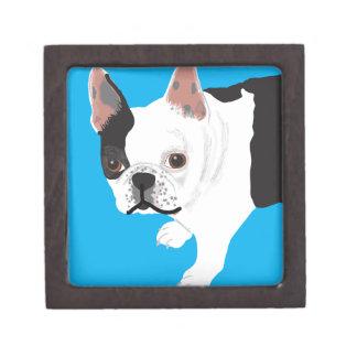 Boston Terrier Toby de los scharnitzky de Elaine Cajas De Recuerdo De Calidad