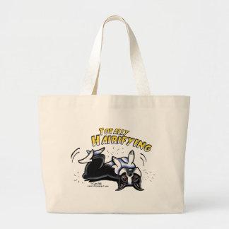 Boston Terrier Totally Hairifying Bags