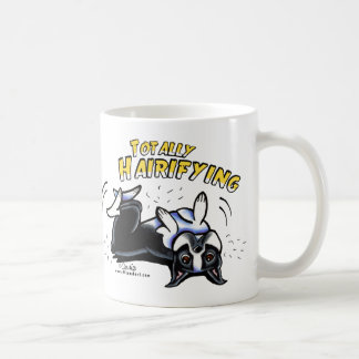 Boston Terrier Totally Hairifying Coffee Mug