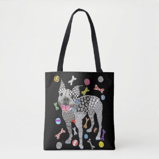 Boston Terrier Tote Bag (You can Customize)