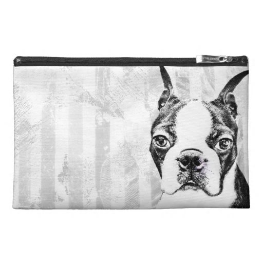 Boston Terrier Travel Accessories Bags