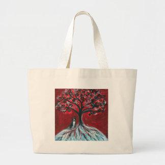 Boston Terrier Tree love Bag