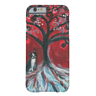 Boston Terrier Tree love Barely There iPhone 6 Case