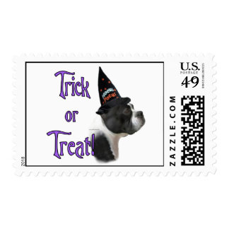 Boston Terrier Trick Postage