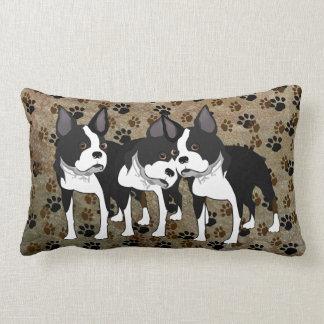 Boston Terrier Tripple Play Pillow