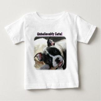 Boston Terrier:  Unbelievably Cute! Baby T-Shirt