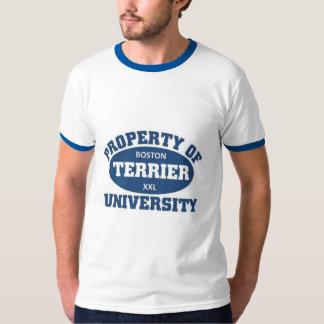 Boston Terrier University T-Shirt