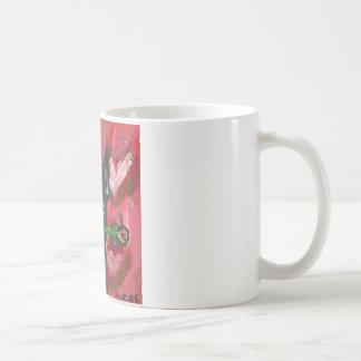 Boston Terrier Valentine Be Mine Heart Coffee Mug