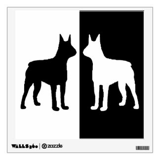 Boston Terrier Wall Decal