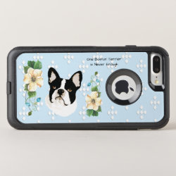 OtterBox Apple iPhone 7 Plus Symmetry Case with Boston Terrier Phone Cases design