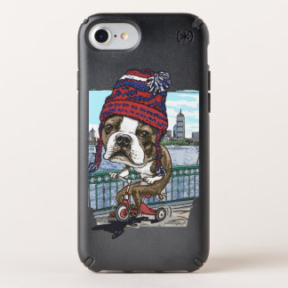 Boston Terrier Wicked Pissah Tricycle Adventure Speck iPhone Case