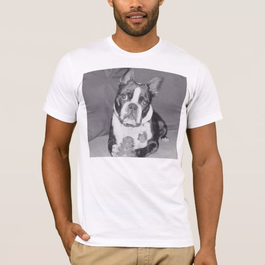 Boston Terrier with Kong toy T-Shirt