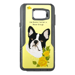 OtterBox Commuter Samsung Note 5 Case with Boston Terrier Phone Cases design