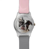 Boston Terrier Wrist Watch