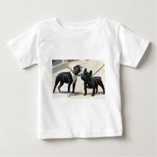 Boston Terrier y dogo francés Polera