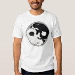 Boston Terrier Yin Yang T-shirt