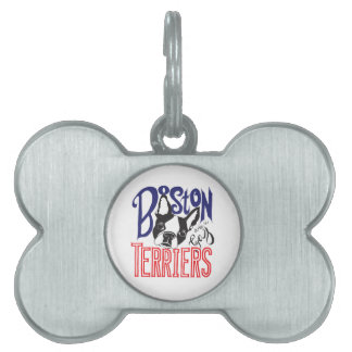 Boston Terriers are a Gas Pet ID Tag