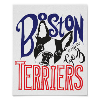 Boston Terriers Are a Gas Poster