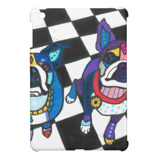 Boston Terriers by Heather Galler iPad Mini Cover