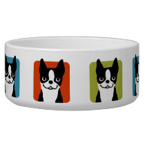 Boston Terriers Dog Bowl