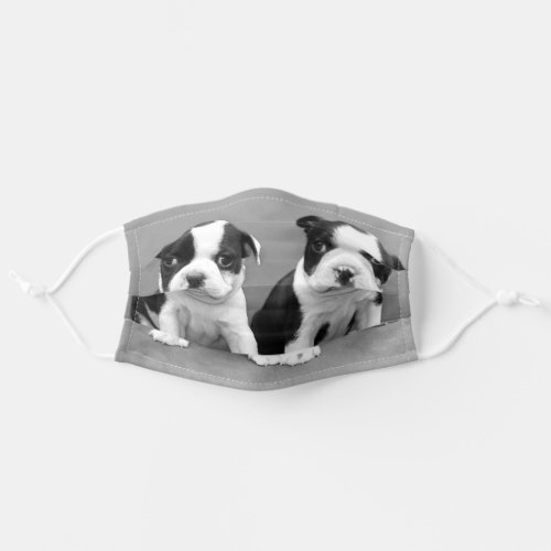 Boston Terriers dog face mask cover