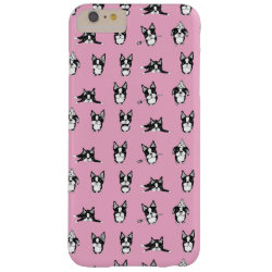Case-Mate Barely There iPhone 6 Plus Case with Boston Terrier Phone Cases design