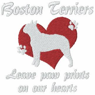 Boston Terriers Leave Paw Prints