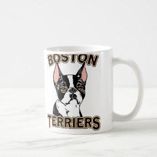 Boston Terriers Mascot Classic White Coffee Mug