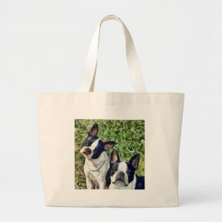 Boston Terriers - Skipper & Dee Dee Bags