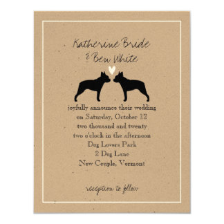 boston terrier invitations announcements zazzle