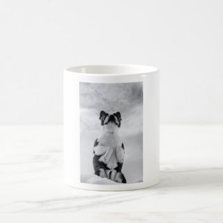 Boston Terrior Praying Coffee Mug