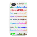 Boston Text Design II 4/4S  Cases For iPhone 4