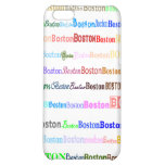 Boston Text Design II 4/4S  Cover For iPhone 5C