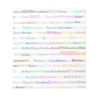 Boston Text Design II Notepad