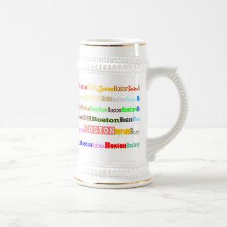 Boston Text Design II Stein I