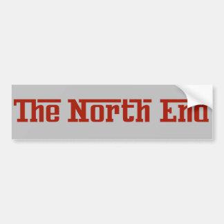 Boston The North End Bumper Sticker