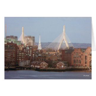 Boston--thinking of you stationery note card