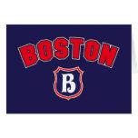 Boston Throwback Greeting Card