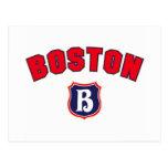 Boston Throwback Post Card