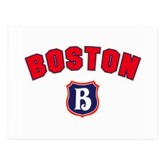 Boston Throwback Postcard