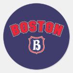 Boston Throwback Stickers