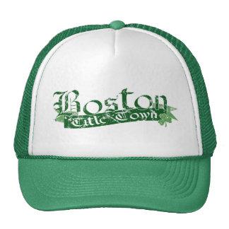 Boston Title Town Distressed Cap Trucker Hat