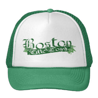 Boston Title Town Distressed Cap Trucker Hat