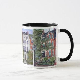 Boston Townhouses Mug